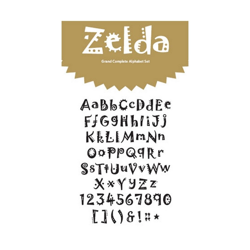 zelda grand 4x8 alphabet set_6445