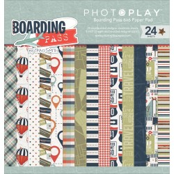 "Paper Pad 6""X6"" - Boarding Pass_66229"
