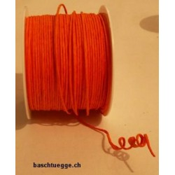 Papierkordel mit Draht - orange_66385