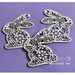 Hase mit Ornament_67009