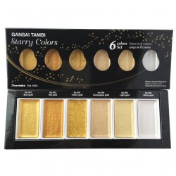 Gansai Tambi Set Starry Colors