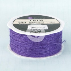 Jute Trim 1mm - Grape