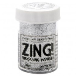 ZING! Embossing Powder - Glitter Silver_69517