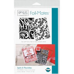 Foil-Mates Background - Swirls & Flourishes_71401