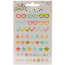 The Reset Girl Enamel Dots...