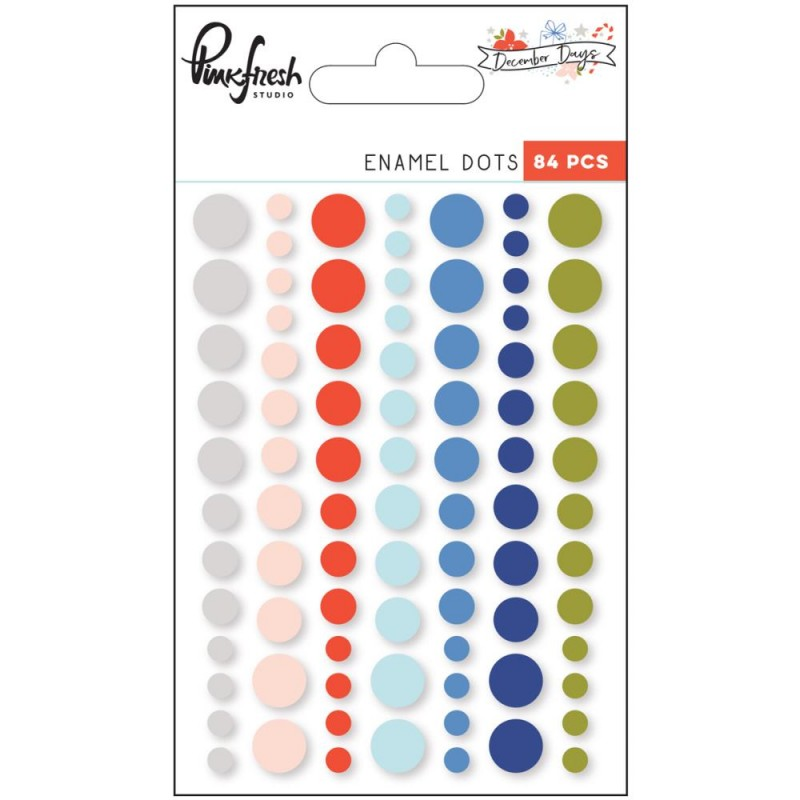 December Days Enamel Dots_71656
