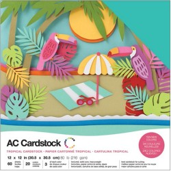Tropicals Cardstock Pack