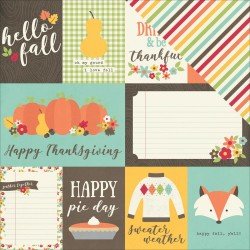 Happy Harvest - Journaling Cards_71685