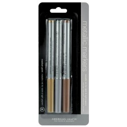 Metallic Marker - Gold, Silver & Copper_71857