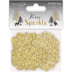 Time To Sparkle - Glitter Tags