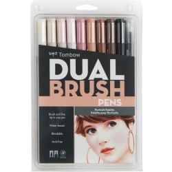 Dual Brush Markers Set - Portrait_72215