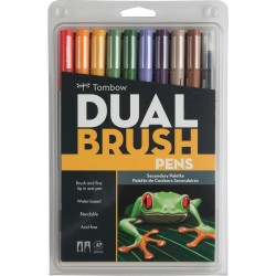 Dual Brush Markers Set - Secondary_72224
