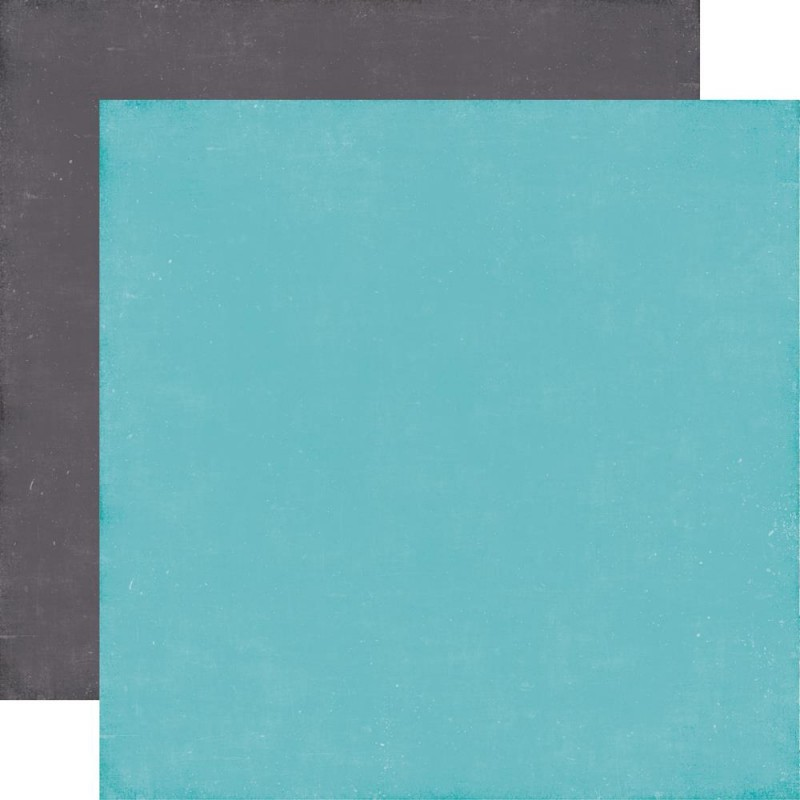A Perfect Winter - Light Blue/Grey Solid_72263