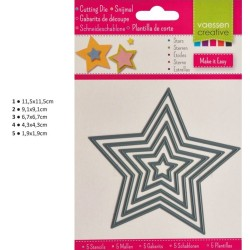 Cutting Die - Stars_72297