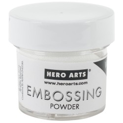 Embossing Powder - white