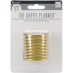 Planner Discs - gold - large
