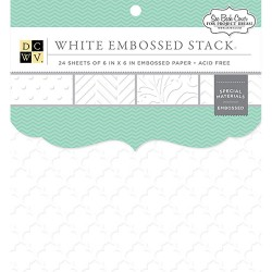 Embossed White Solid_72508