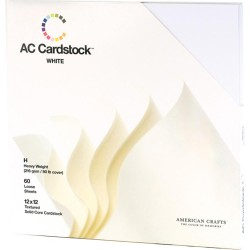 White Cardstock Pack