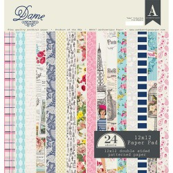 Double-Sided Cardstock Pad - Dame_72549