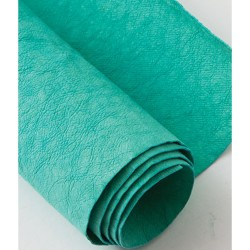 Kraft-Tex Kraft Paper Fabric - Blue Turquoise_72609