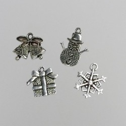 Set 8 charms - Christmas_72784