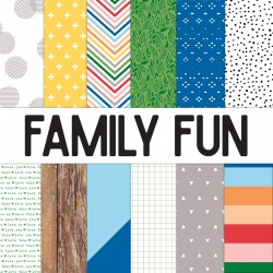 Family Fun - 12 x 12 paper collection_73191