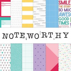 Noteworthy - 12 x 12 paper...