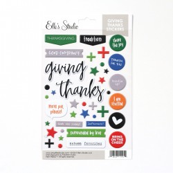Giving Thanks - Puffy Stickers_73207