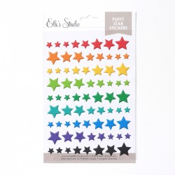 Stars - Puffy Stickers_73215