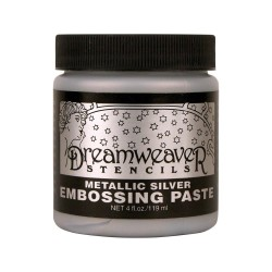 Embossing Paste - Silver_73889