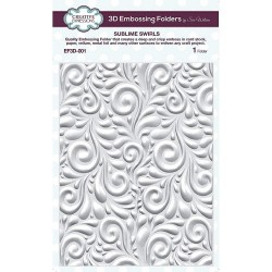 Sublime Swirls - 3D Embossing Folder_73900