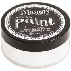 Dylusions Acrylic Paint - White Linen_73925