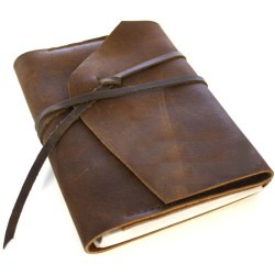 Dark Brown Journal - Kit
