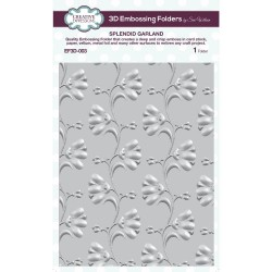 Splendid Garland - 3D Embossing Folder_73973