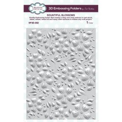 Bountiful Blossoms - 3D Embossing Folder_73975