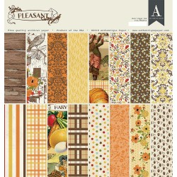 Double-Sided Cardstock Pad - Pleasant_73979