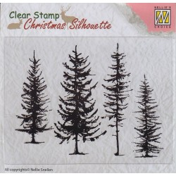 Christmas Stamps - Pine Trees_74016