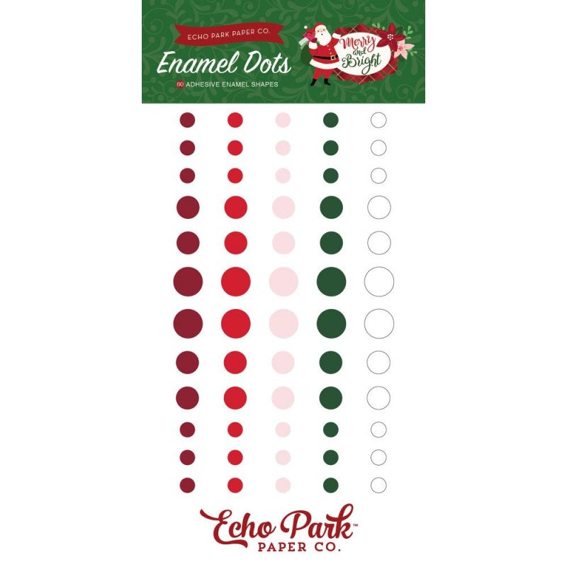 Merry & Bright Enamel Dots_74230
