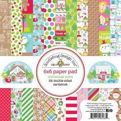 Christmas Town Paper Pad_74260
