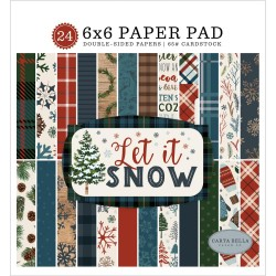 Let It Snow Paper Pad