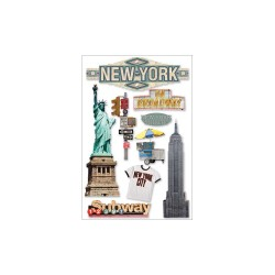 New York City - 3D Stickers