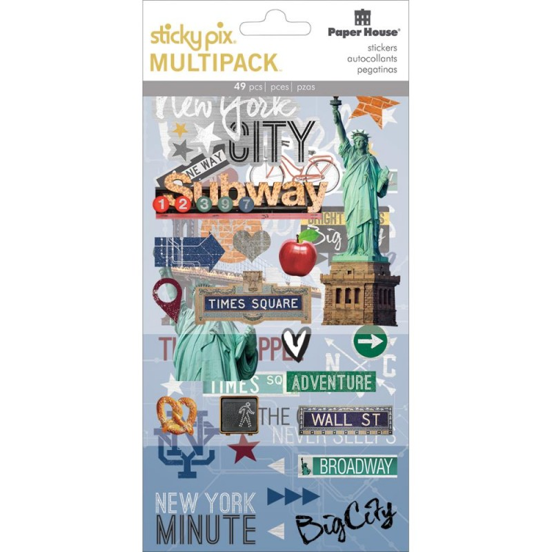 New York City - Mixed Media Multipack Stickers_74319