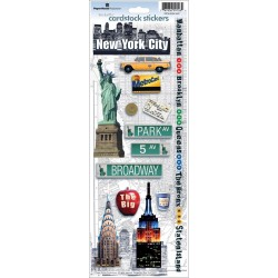 New York City - Cardstock Stickers_74321