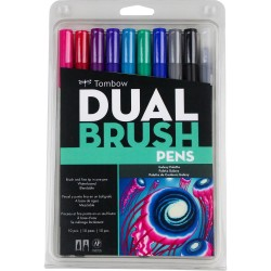 Dual Brush Markers Set - Galaxy_74325