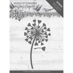 Words Of Sympathy Die - Flower_74333