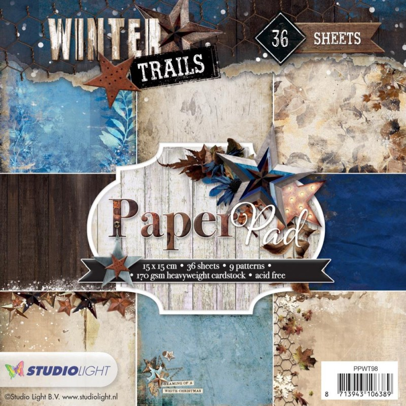 Winter Trails 2 - Paper Pad_74482