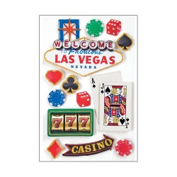 Las Vegas - 3D Stickers