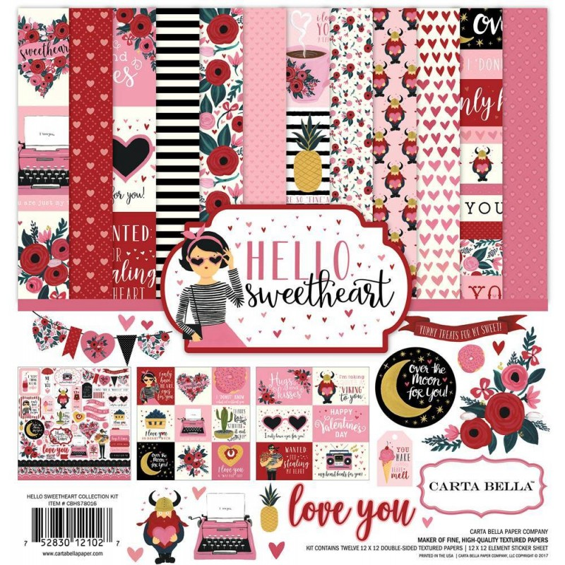 Hello Sweetheart - Collection Kit_74703