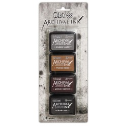 Distress Archival Mini Ink Kit - Kit 3_74781