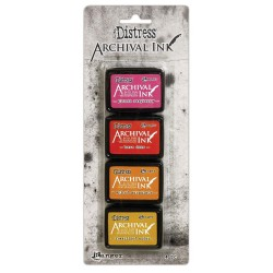 Distress Archival Mini Ink Kit - Kit 1_74789